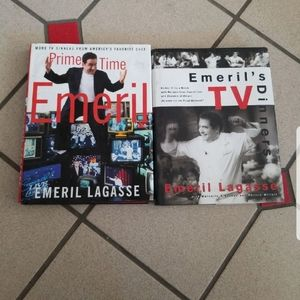 Book lot cookbook food Network emeril lagasse